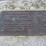 The Fr. Pat Noise Plaque on O'Connell Bridge