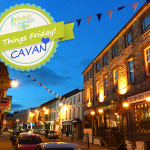 Cavan town at night
