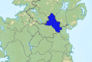 Map of Co. Monaghan