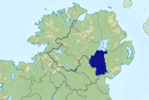 Map of Co. Armagh