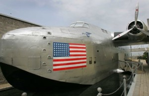 A Boeing 314 replica at the Foynes Flying Boat Museum
