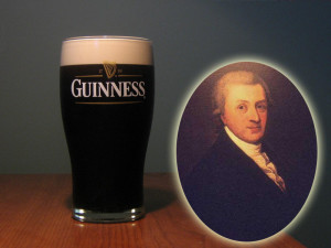 Arthur Guinness and his legendary brew