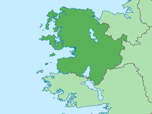 Map of Co. Mayo