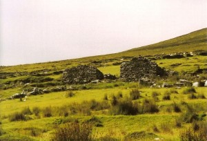 The deserted village of Slievemore