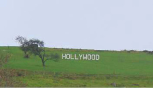 The Hollywood sign in Co. Wicklow - Wicklow Facts