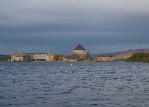Station Island on Lough Derg