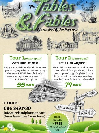 Tables & Fables Foodie Tours of Cavan